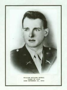 William Milling Royall, The Citadel Class of 1942