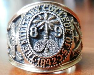 Citadel Ring - Class of 1989