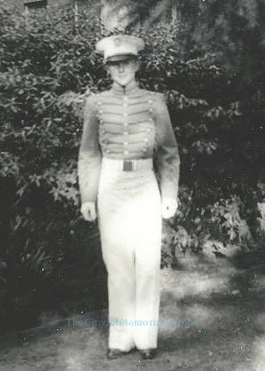 "Cadet Recruit (freshman) Charles ""Chuck"" Marion Thirlkeld, Jr., Class of 1944. Photo courtesy of the Dworschak Family."