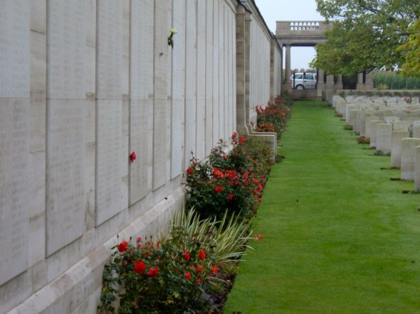 Loos Memorial, Loos-en-Gohelle, France. Photo courtesy of Commonwealth War Graves Commission.