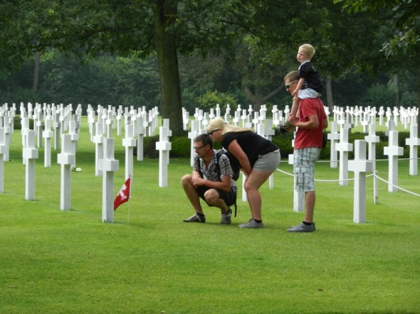 Visit to Normandy