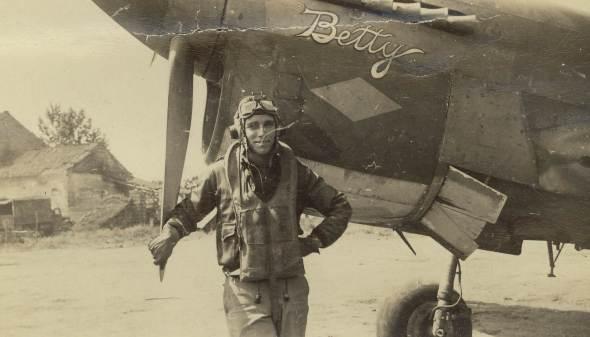 Henry F. Garlington, WWII P-40 pilot