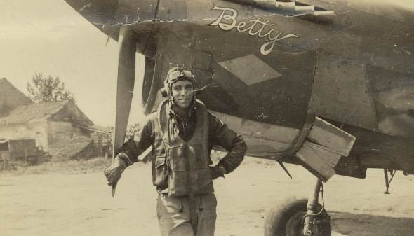 Henry F. Garlington, WWII P-40 pilot