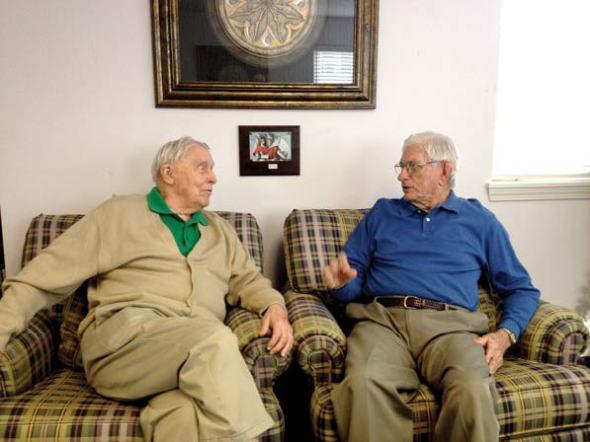 Henry Garlington_POWs reunite