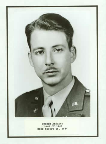 Joseph Andrews Class of 1940