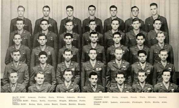 4th Platoon Company C ASTP 1945 Univ Nebraska