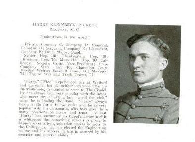 Harry Kleinbeck Pickett 1911